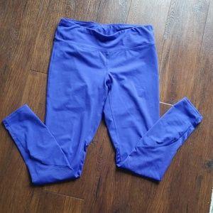 Gap fit blue purple legging, medium